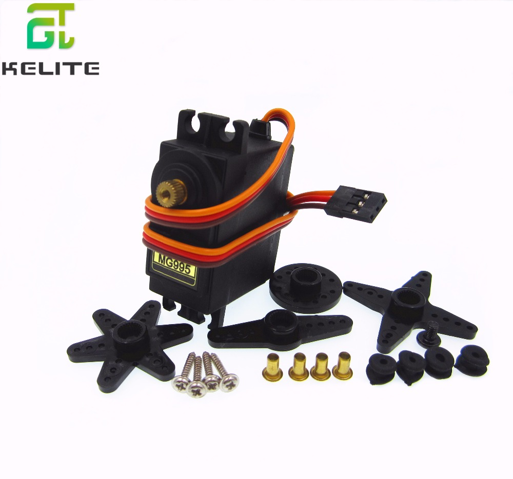 5pcs/lot NEW MG995 Metal Gear High Torque Servo for HPI XL Helicopter /Car /Boat Hot Selling