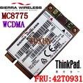 Бесплатная доставка сьерра-тип 3 г модуль MC8775 WCDMA край GPRS 850 900 1800 1900 мГц 2100 мГц 3 г беспроводной сетевой карты для ThinkPad