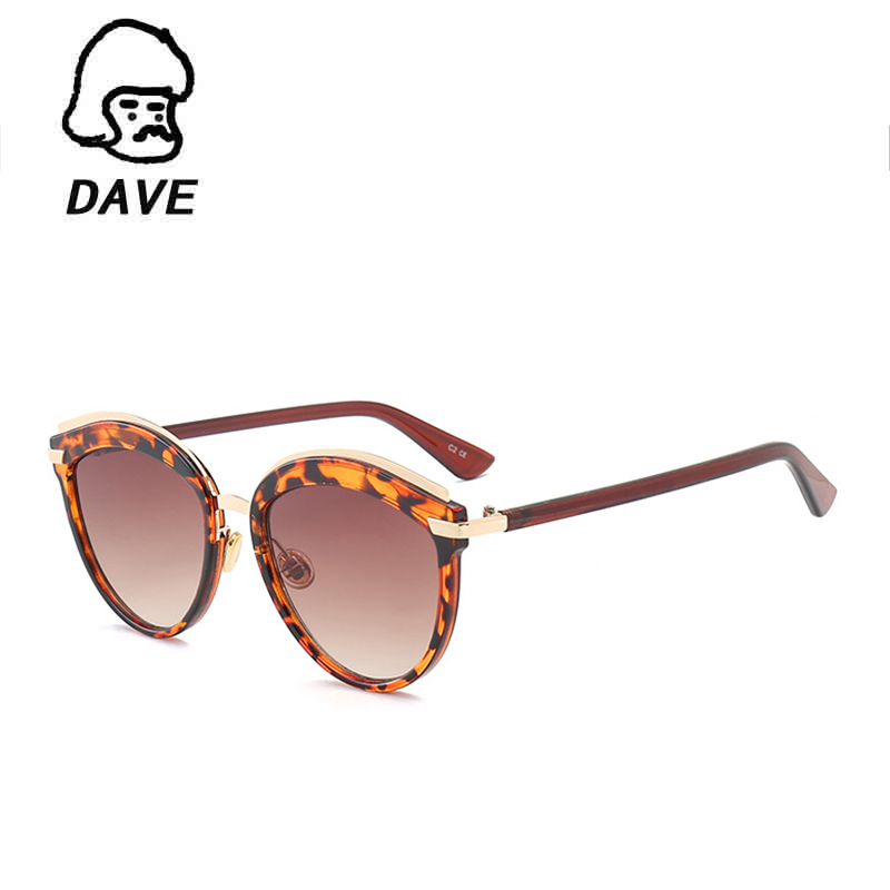 DAVE Fashion Oval Sunglasses Women Famous Brand Designer Female Retro Reflective Mirror Sun Glasses Clear Candy Color Eyewear
