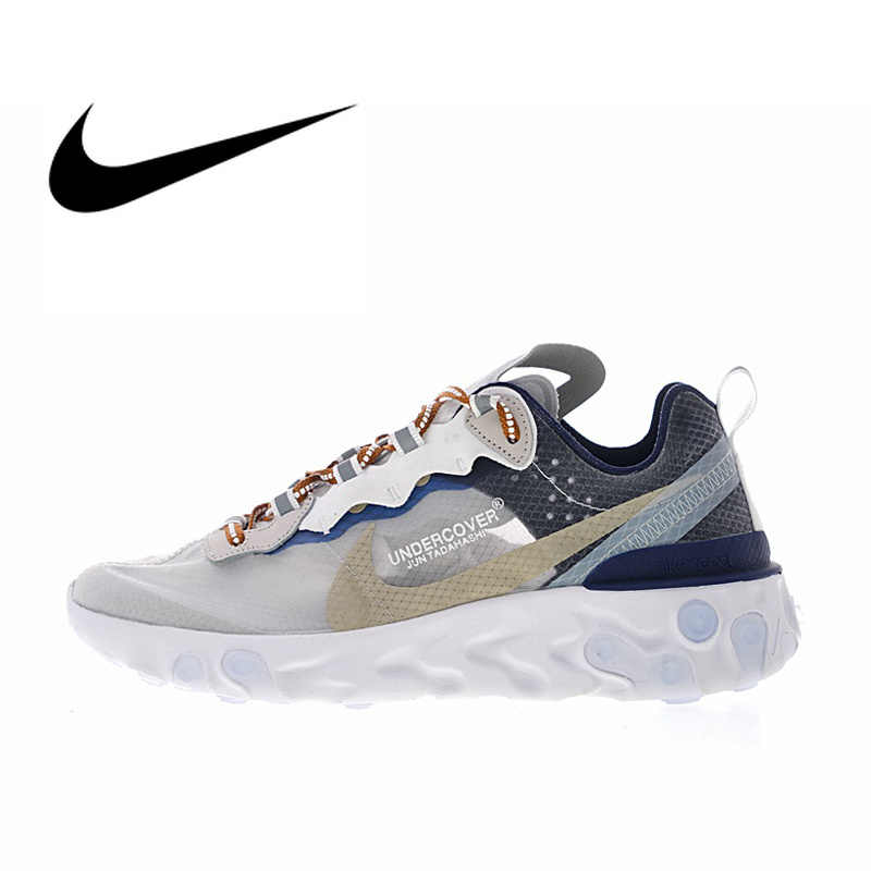 b59f1c0db00 UNDERCOVER x Nike Upcoming React Element 87 Women s Comfortable Running  Shoes Sneakers Athletic Designer 2018 New