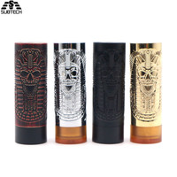 Electronic Cigarette Pharaoh Mech Mechanical MOD fit 510 Thread 18650 battery Mech mods VAPE for vape tank atomizer rdta box mod