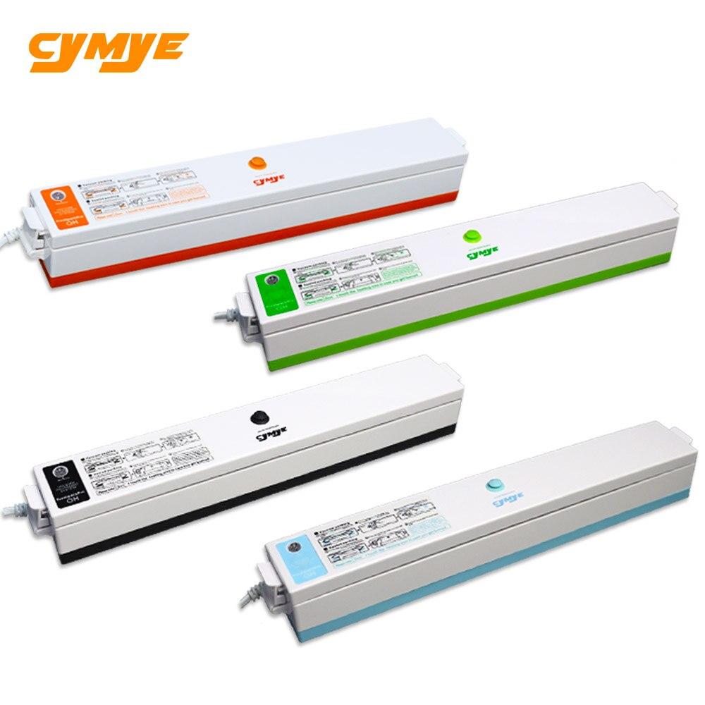 Cymye Alimentare Sigillatore di Vuoto Macchina Per L'imballaggio 220 v, tra cui 15 pz sacchetto di Vuoto Packer può essere utilizzato per alimentare saver