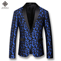 2016 New Men Blazers and Jackets Dress Suits Men's Casual Fashion Slim Fit Men Long Sleeved Blazers Herren Anzug Veste De Loisir