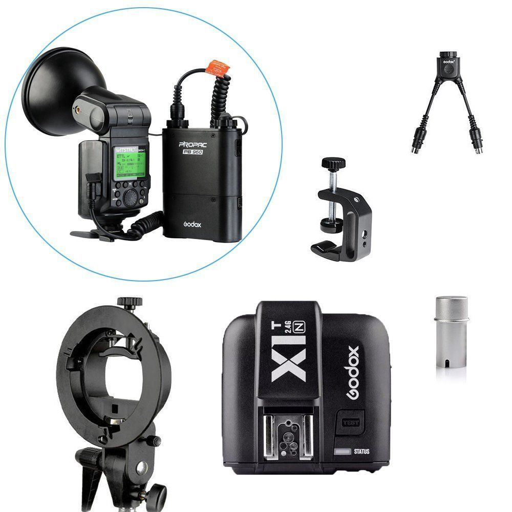Godox Witstro AD360II-N TTL 360 W Kit Flash Speedlite Portable pour NIKONGodox Witstro AD360II-N TTL 360 W Kit Flash Speedlite Portable pour NIKON