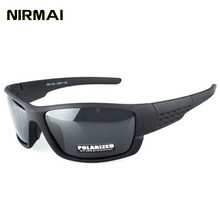 NIRMAI polarizing Sports Sunglasses sport sunglasses male and female brand designers driving Fishing UV400