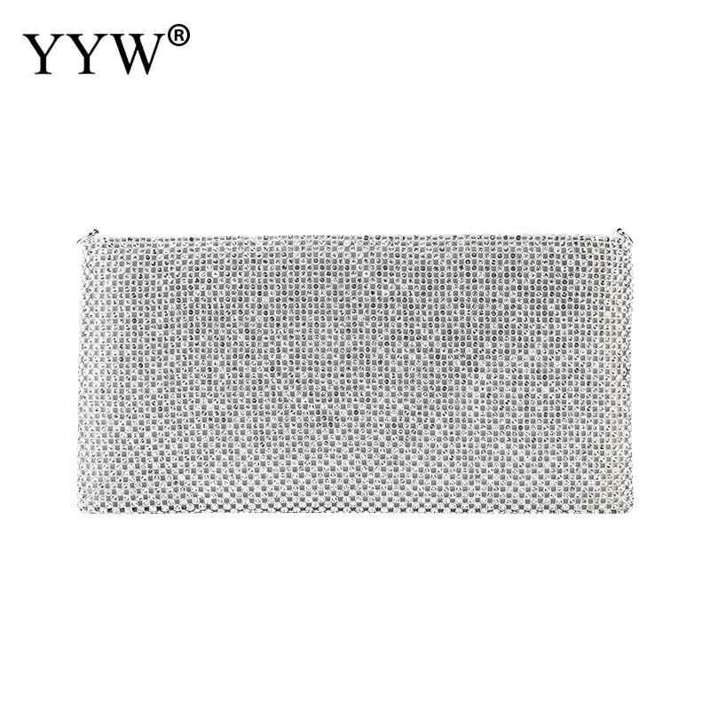 Diamantes bolsa de embreagem para as mulheres 2019 moda festa à noite carteira bolsa feminina sacos de corrente com strass caixa saco sac a principal