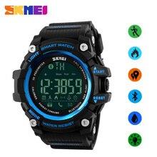 SKMEI 50M Waterproof Men Watch Smart Sports Watch Android Apple Watches Bluetooth Connect Digital Smart Wristwatches Clock цены онлайн