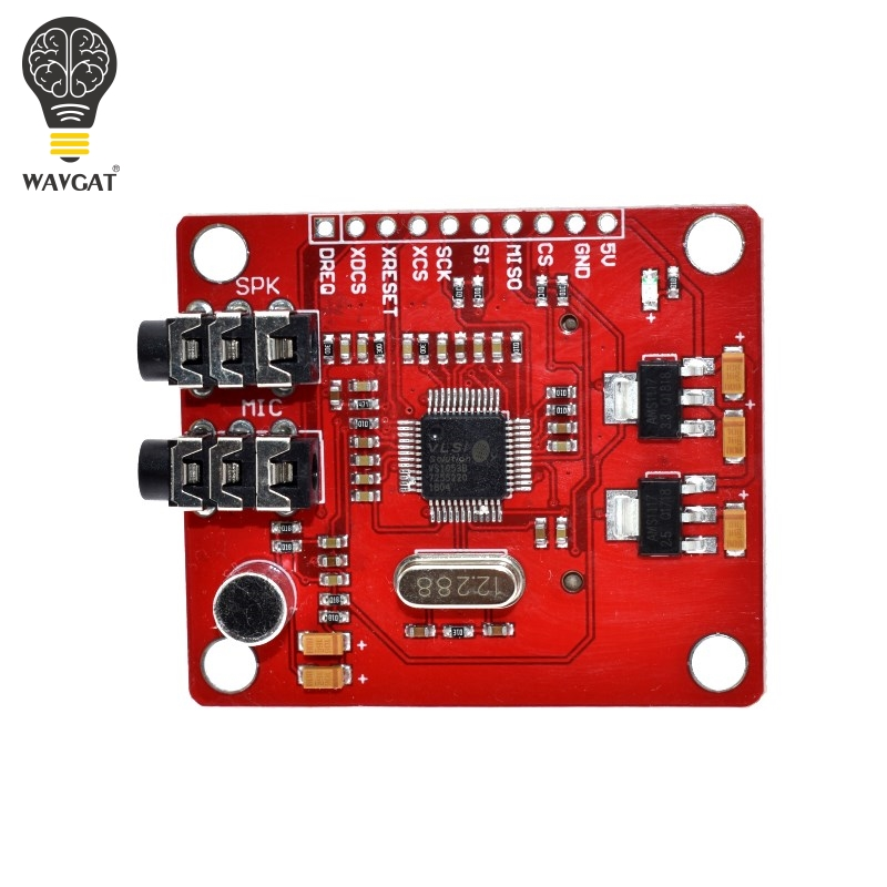 Image 4 - WAVGAT VS1053 VS1053B MP3 Module For Arduino UNO Breakout Board With SD Card Slot Ogg Real time Recording For Arduino UNO-in Integrated Circuits from Electronic Components & Supplies