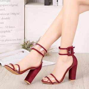Image 4 - Escarpins à talons hauts pour femmes, chaussures Sexy à talons hauts, chaussures De danse et De mariage