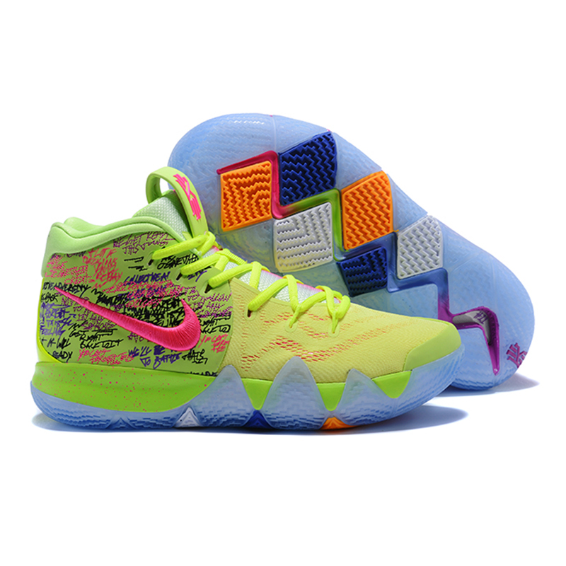 38f62974ffb7 Nike Kyrie 4 Irving 4th Generation Confetti Men s Basketball Shoes ...