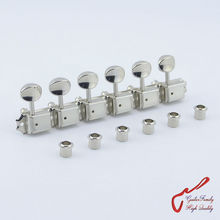 Original Genuine 6 In-line GOTOH SD91-05M Kluson Vintage  Guitar Machine Heads Tuners  ( Nickel ) MADE IN JAPAN