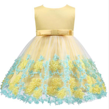 Summer Kids Tutu Birthday Princess Party Dress for Girls Infant Lace Children Bridesmaid Elegant Dress for Girl Baby Girls Cloth elegant baby girls princess dress infant party dress kids dresses for girls wedding dress summer children fancy for girl costume