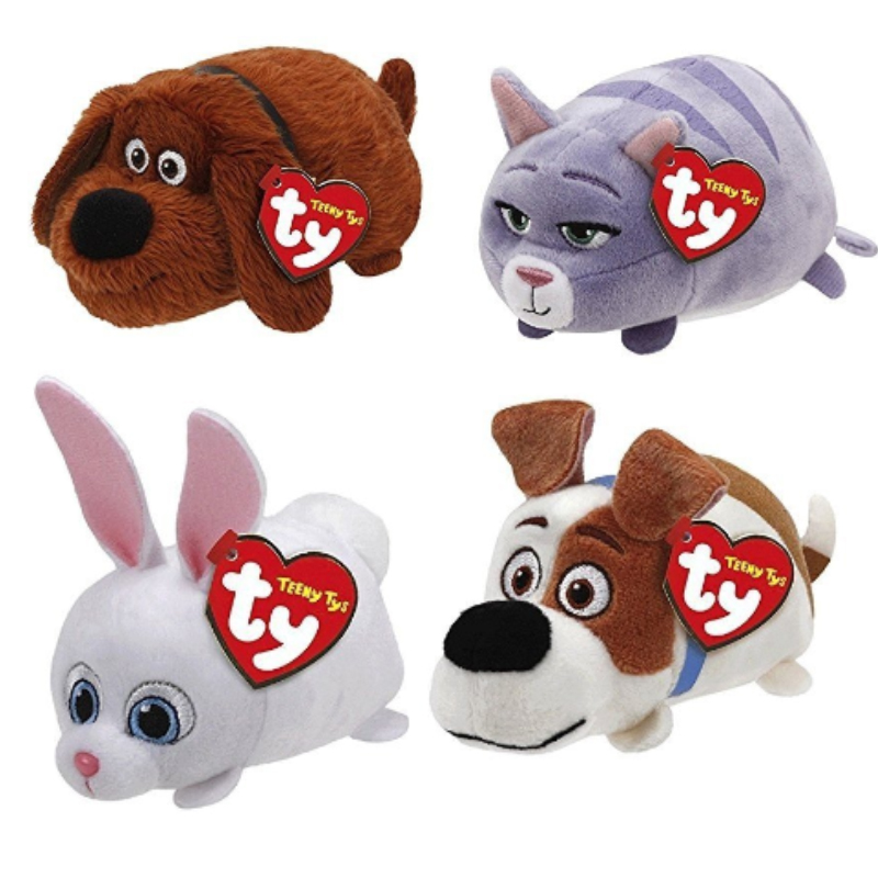 TY Beanie Boos Teeny Tys Stackable Plush Pets Movies Gidget Chloe Stuffed  Animal Collectible Soft Big c460e813e4b4