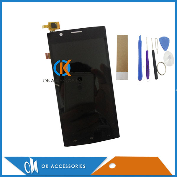 For Fly Nimbus 3 FS501 FS 501 LCD Display+Touch Screen Digitizer Assembly High Quality Black Color With Tools 1PC/Lot