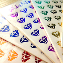 Diy Lips And Diamond Stickers Pack Post it Kawaii Planner Scrapbooking Sticky Memo Sticker Stationery 2017 New School Supplies