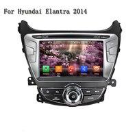 2 Din Android 8.0 RAM 4G Octa Core Car Audio GPS Navigator Auto radio Motorized Detachable Auto Car DVD Player For Elantra 2014