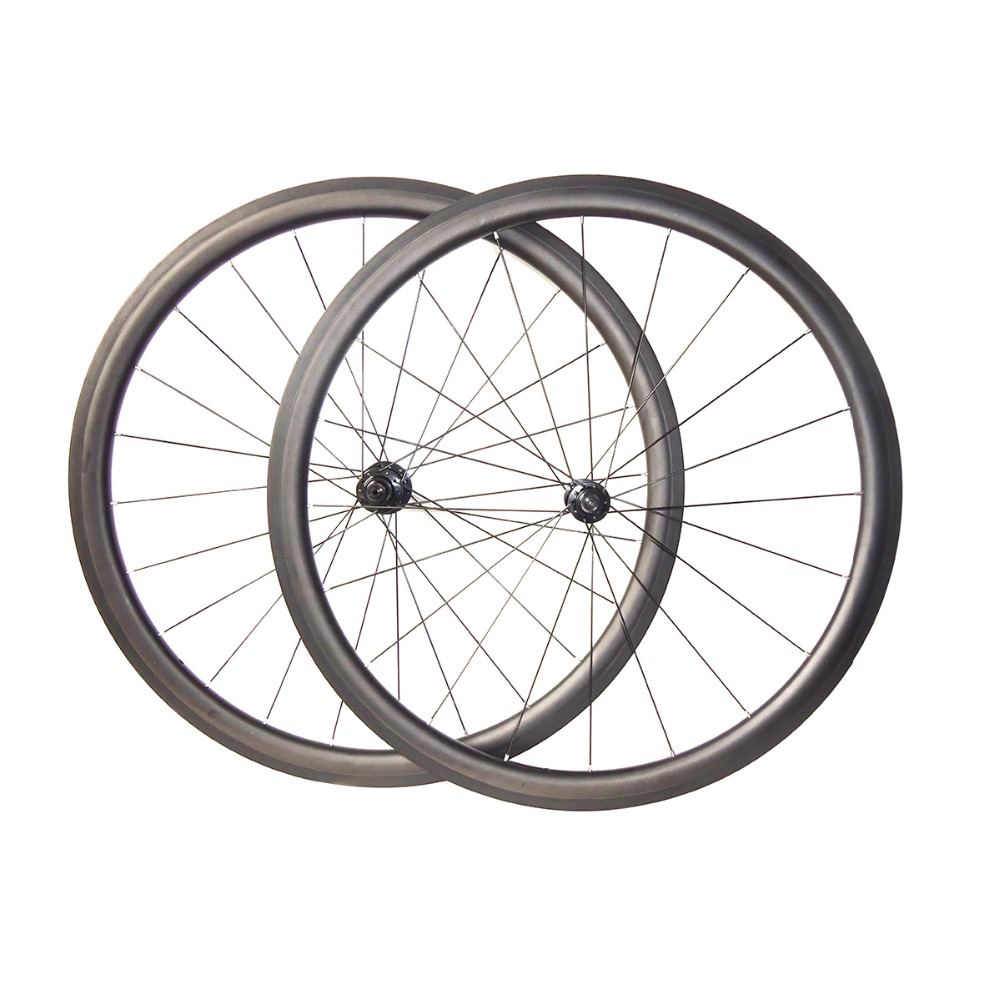 7 Tiger light Powerway R13 carbon bicycle wheelset 38mm depth clincher tubular road bike wheels alloy spoke