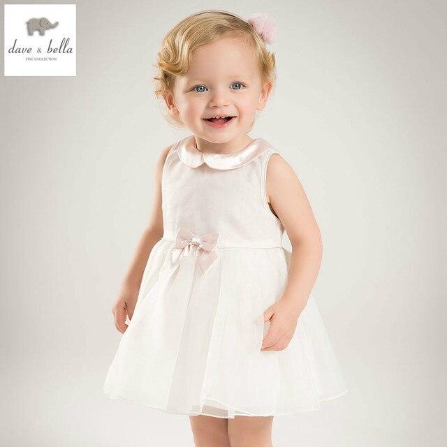 a74fe78cb172 DB5467 dave bella estate della neonata vestito dalla principessa del bambino  grande arco vestiti delle ragazze. Posiziona il mouse sopra per ingrandire