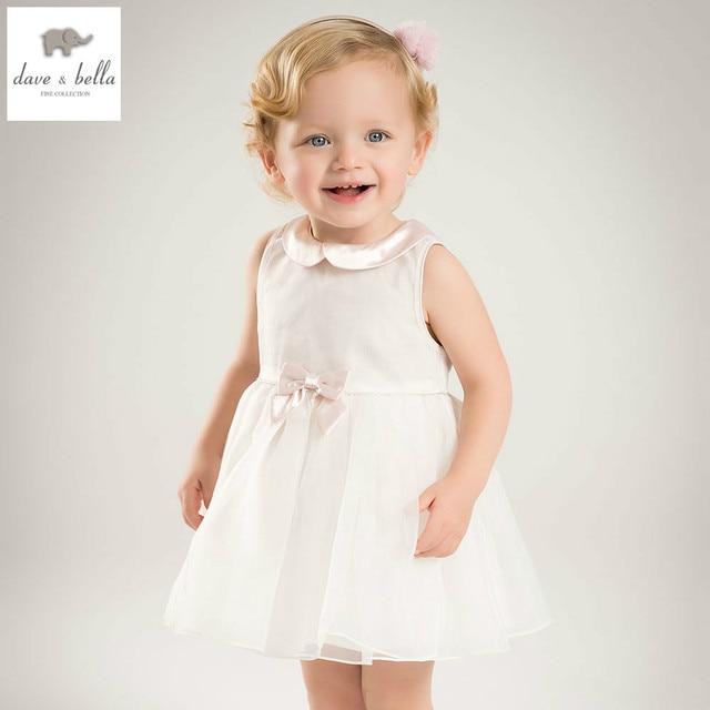 9dfa8ec864e DB5467 dave bella summer baby girl princess dress baby big bow wedding dress  kids birthday clothes dress girls costumes