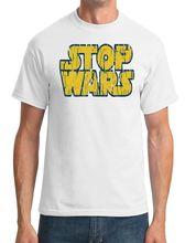 Stop Wars - Conspiracy -Star Inspired Mens T-Shirt Free shipping Harajuku Tops Fashion Classic Unique