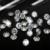 Cristal Color brillante Cubic Zirconia piedras forma redonda Pointback Cubic Zirconia perlas decoración de uñas 4 - 18 mm