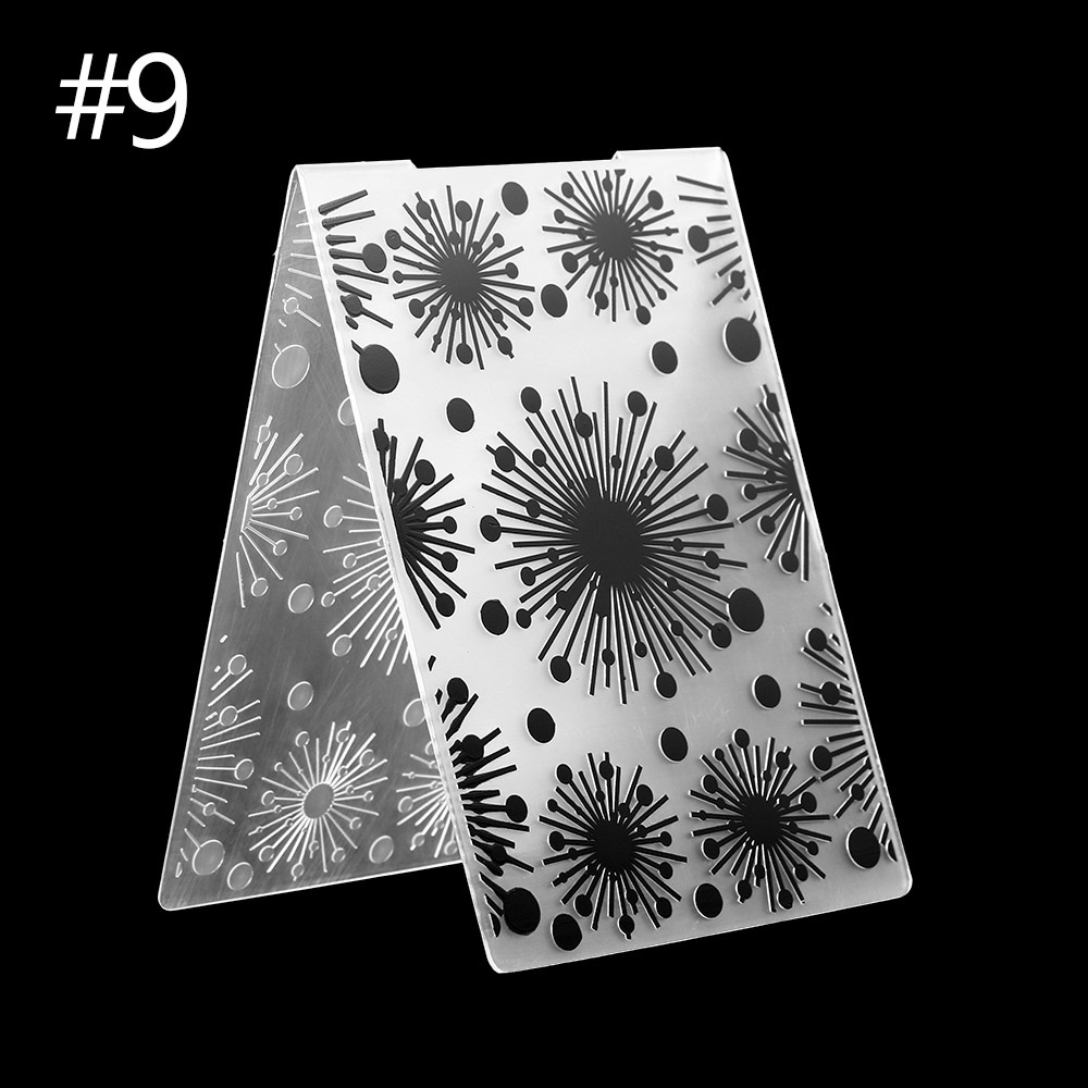 Paper Crafts Embossing Stencils Folder Christmas Scrapbooking Template Mould