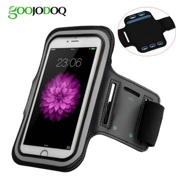 Waterproof Gym Sports Running Armband for iPhone 7 8 6 6s 5 5s 5c 4 Phone Pouch Case Cover+ Key Holder Arm Band for iPhone 8 7