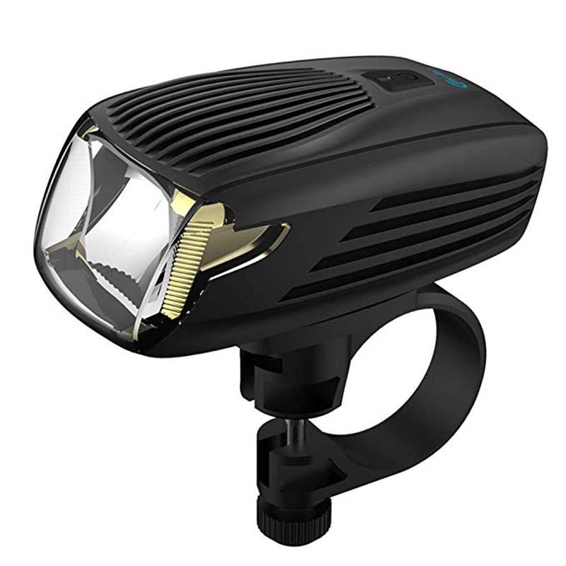 Kit de lumière de vélo automatique avant lumières intelligentes pour phare de vélo 5 modèle LED rechargeable par usb lampe de poche vtt vélo de route