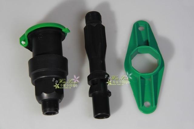 3/4 DN20 Male Thread  Rapid Water Intake Valve External Thread One Set 0.82Mpa