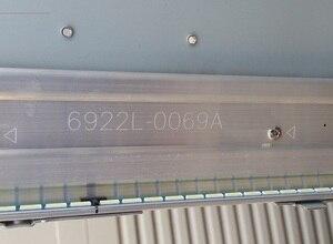 Image 5 - New 5set=10pcs 75LED LED backlight stip for LG 55LA660V 55PFL6008K  55LA6800 6922L 0069A 55LA7400 55LA6600 6916L1210B 6916L1209B