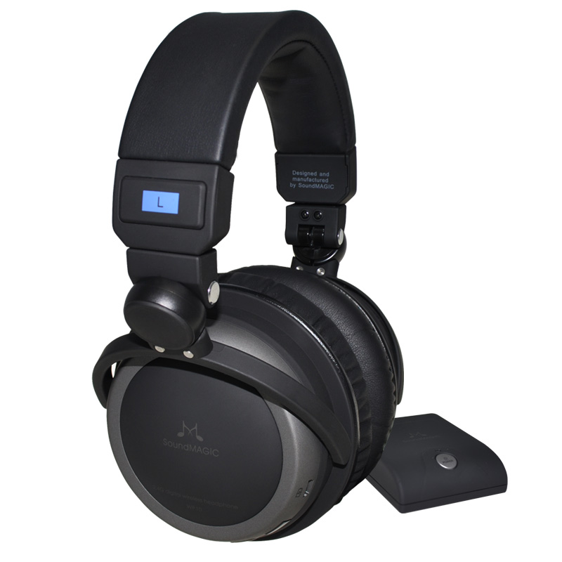 SoundMAGIC WP10 Premium Circumaural 2.4GHz Digital Wireless Headphone System with DAC Genuine sealed in retail box шкатулка swiss kubik sk01 fa002 wp