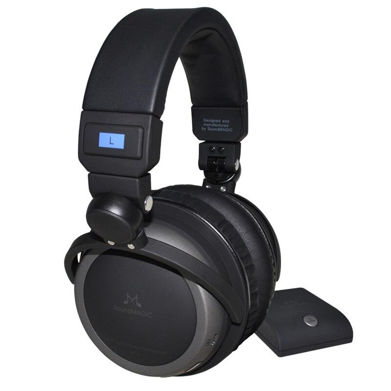 SoundMAGIC WP10 Premium Circumaural 2.4GHz Digital Wireless <font><b>Headphone</b></font> System with DAC Genuine sealed in retail box