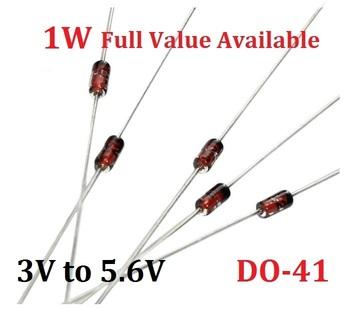50 sztuk 1W dioda zenera 1N4727A 3 V 1N4728A 3 3 V 1N4729A 3 6 V 1N4730A 3 9V 1N4731A 4 3V 1N4732A 4 7V 1N4733A 5 1V 1N4734A 5 6V tanie i dobre opinie YUFO-IC Dioda prostownika Nowy diode Przez otwór