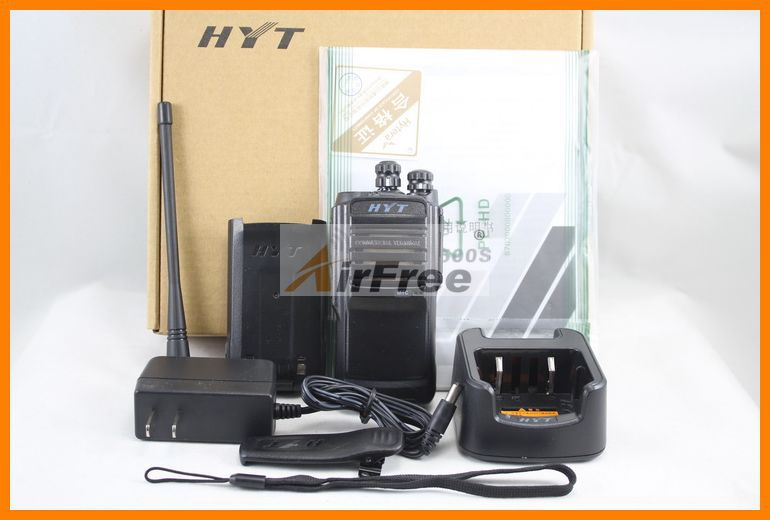 HYTERA TC-508 Portable Two Way Radio TC508 Business radio HYT TC-500S UHF VHF Handheld Walkie Talkie with Battery