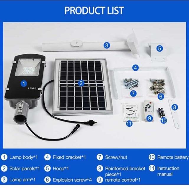 BEYLSION Waterproof Solar Street Light Solar Garden Light Lamp LED Street Light Solar LED Solar Light 300W 200W 100W 50W 30W 20W 6