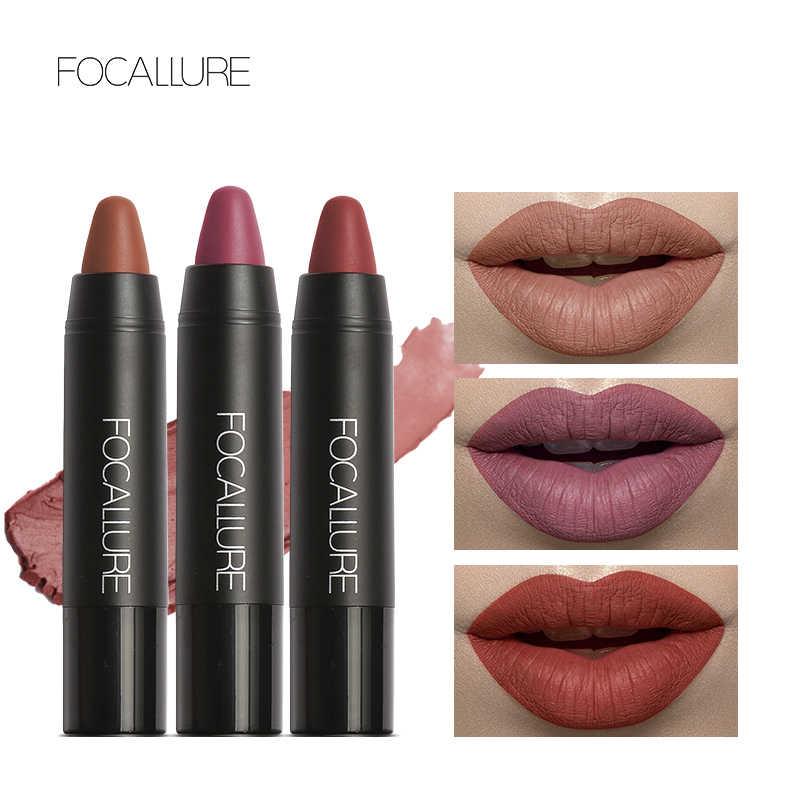 FOCALLURE 19 Colors Waterproof Long Lasting Lip Makeup Red Lipstick Matte Lip Stick Sexy Colors