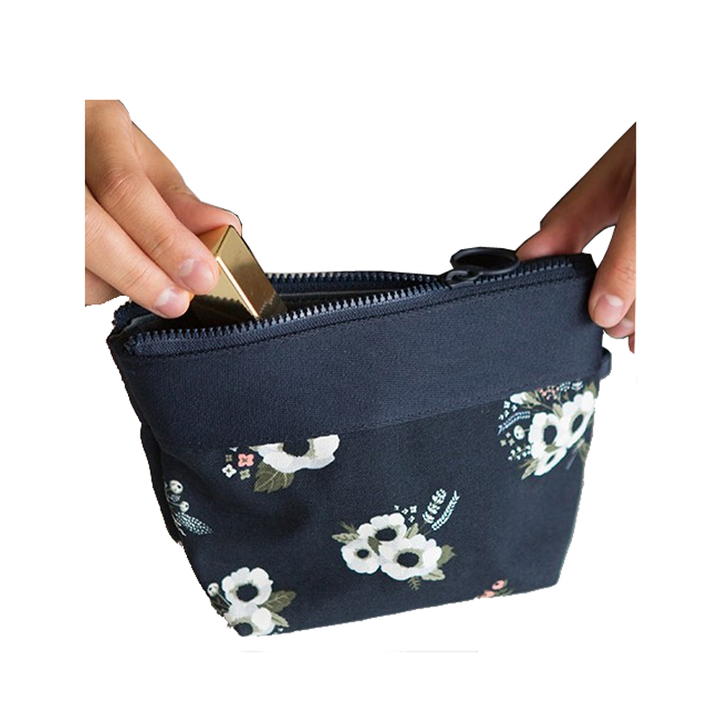 Creative Design MINI Women Carry Pouch Small Make up Cosmetic Bag Storage Toiletry Bags Makeup Organizer CB018 japanese pouch small hand carry green canvas heat preservation lunch box bag for men and women shopping mama bag