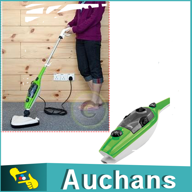 family 10 in 1 steam mop steamer cleaner floor carpet vapor sweeper express ship - Steam Cleaner Reviews