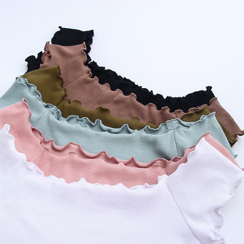 HTB1er9KOVXXXXbsXXXXq6xXFXXXt - Striped Knitted Off Shoulder Slash Neck Short Sleeve T Shirt PTC 27