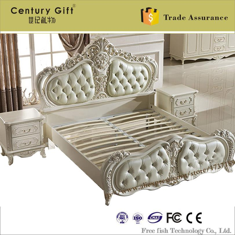 achetez en gros lit rond de cuir en ligne des grossistes lit rond de cuir chinois aliexpress. Black Bedroom Furniture Sets. Home Design Ideas