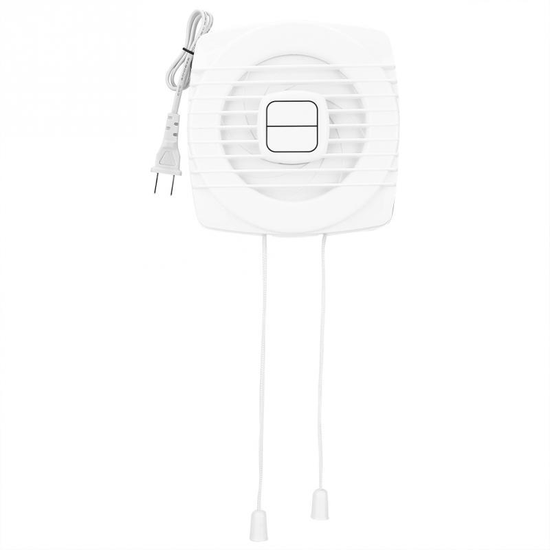 Mini White Exhaust Fan Ventilation Blower Window Wall Kitchen