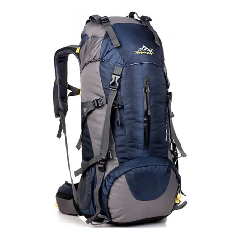 50L Travel backpack for men 2017 fashion New Women travel backpack waterproof nylon shoulder travel bags