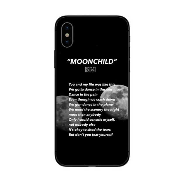 they danced under the light of the moon cat art iPhone 11 case