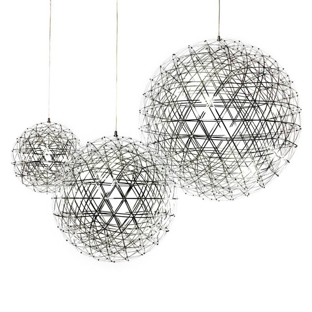 LED Creative personality restaurant chandelier led chandelier ball spark Nordic minimalist living room chandelier restaurant lakes restaurant