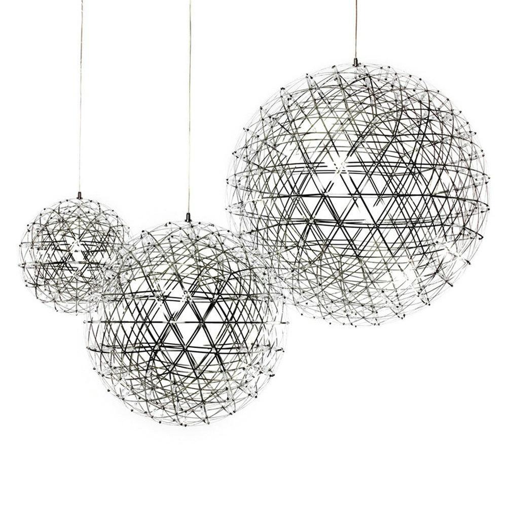 купить LED Creative personality restaurant chandelier led chandelier ball spark Nordic minimalist living room chandelier restaurant по цене 4985.58 рублей