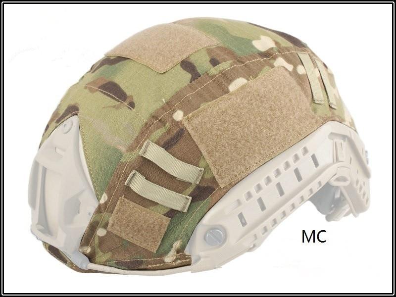 Prix pour Airsoft Tactique Casque Cover Multicam pour Rapide Casques de Combat Militaire Avec Nouveau Conçu Bonne Qualité-pas comprennent le casque