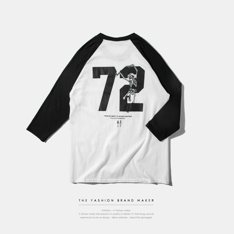 Online buy wholesale baseball raglan tee from china for Buy 100 cotton t shirts in bulk