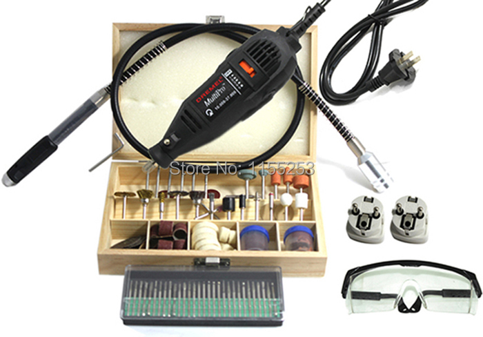Dremel Hardware Variable Speed Rotary Tool,Mini Drill,with 130pcs Accessories Flexible tube shaft & practical gift Free Shipping 8000 30000rpm variable speed dremel rotary tool dremel driller grinder motor with 210pcs accessories free delivery