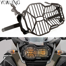 CNC Motorcycle Headlight Protector Grill Guard Cover For BMW R1200GS R 1200 GS LC / Adventure R1200 GS 2012-2018 2013 2014 2015 motorcycle accessories headlight guard protector bracket for bmw r1200gs r1200 gs r 1200 gs lc adv adventure 2013 2014 2015 2016