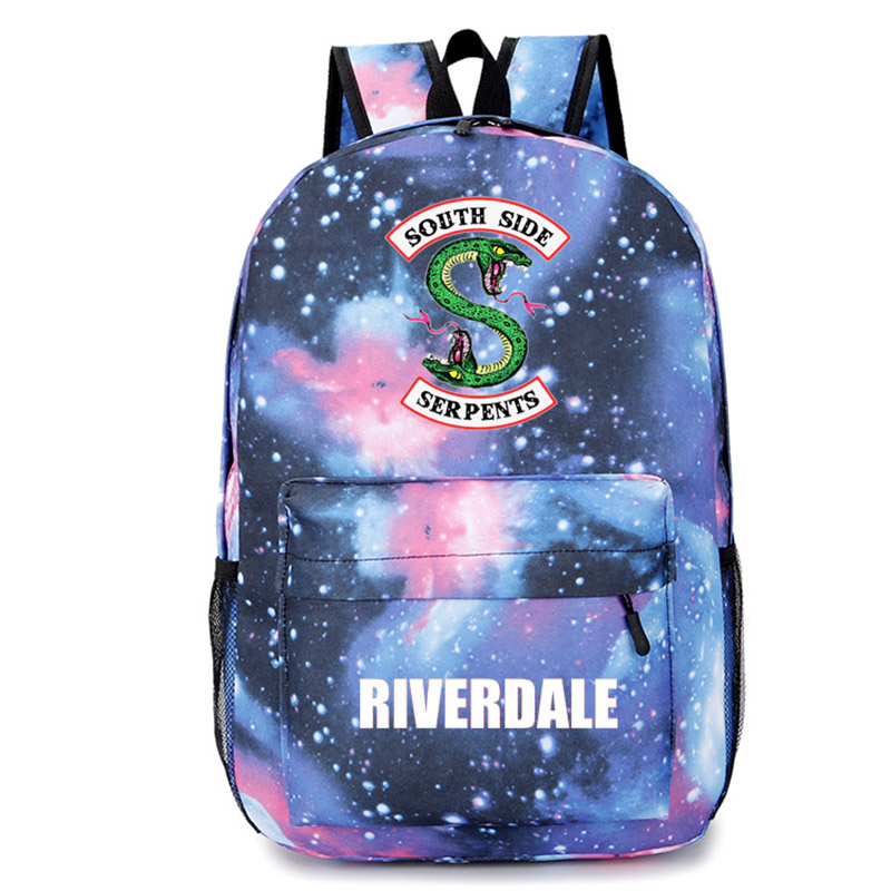 2019 NEW Southside Riverdale Snake Star Personality Backpack Student Bag
